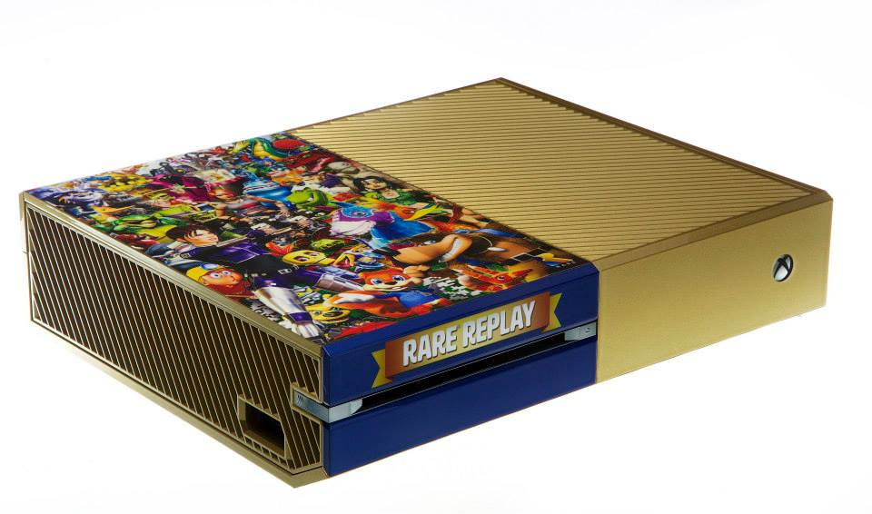 Win A Rare Replay Collectible Xbox One Consoles at SDCC