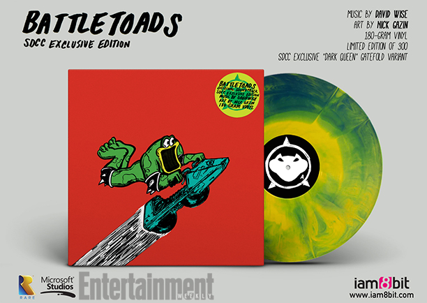 Comic-Con Exclusive Battletoads Vinyl Soundtrack And Rare Replay Poster Revealed