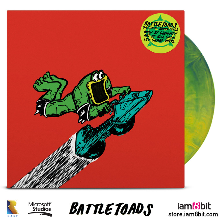 Battletoads Vinyl Cover
