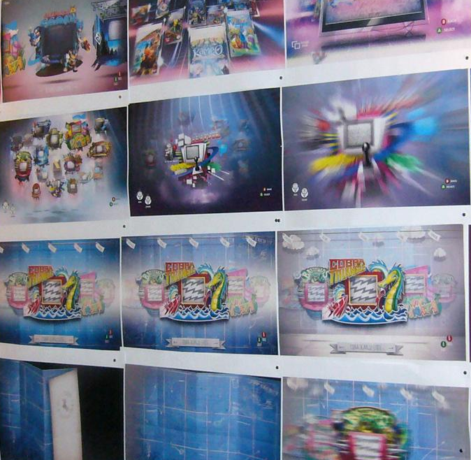 Pre-Production UI Designs Of Rare Replay