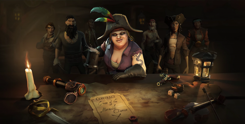 Sea of Thieves Concept Art Speculation