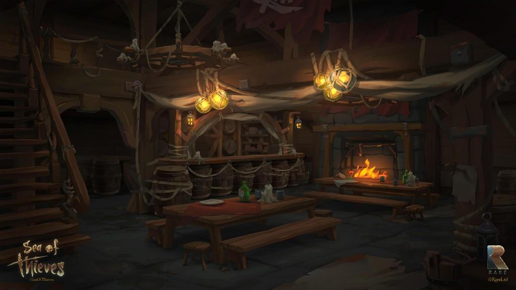 New Sea of Thieves Art – Tavern