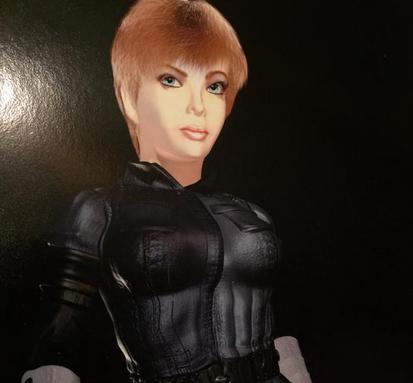 Old Test Render Of Joanna Dark Revealed