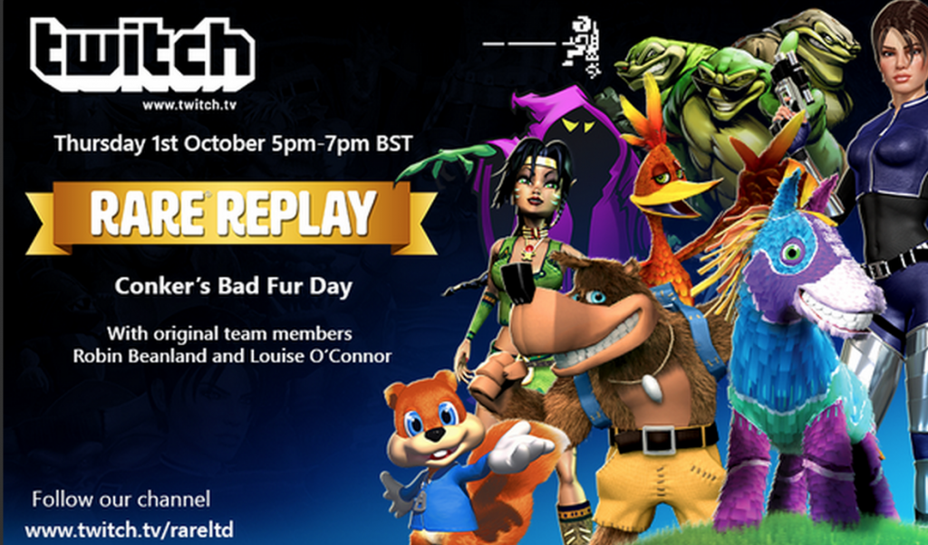 Conker's Bad Fur Day Live Stream Highlights