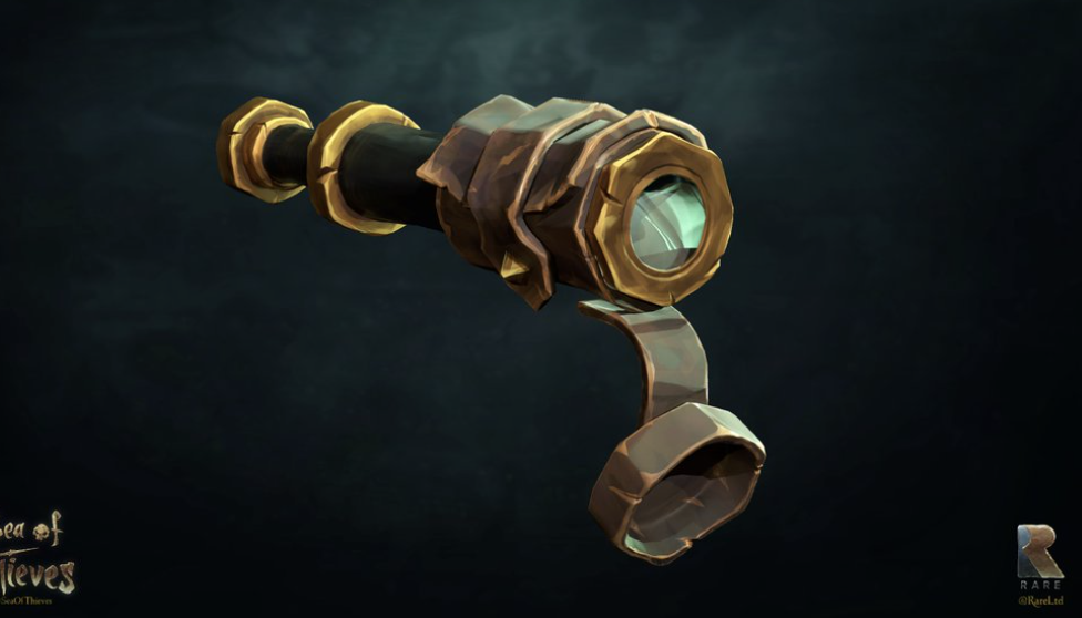 Sea Of Thieves Concept Art: Telescope