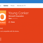 "Listing For ""Young Conker"" Appears On Windows Store"