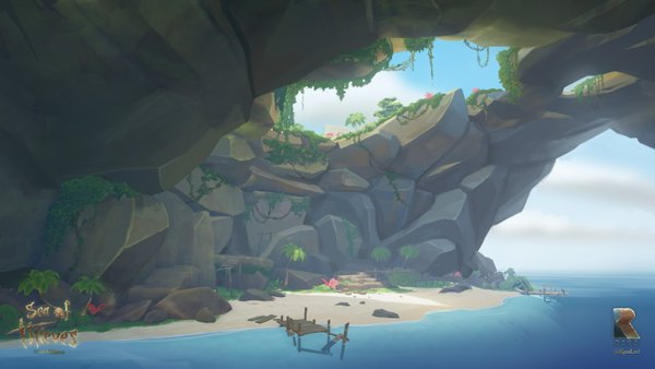 Pirate Cove Sea of Thieves Concept Art