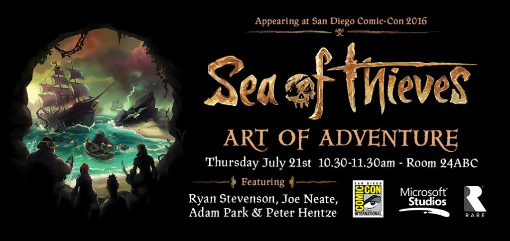 Sea of Thieves Panel At San Diego Comic-Con 2016