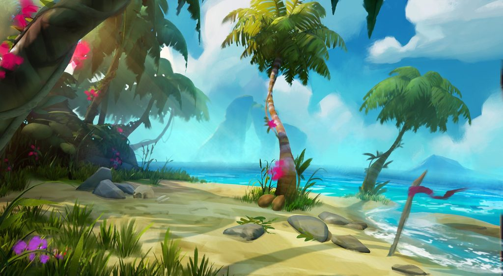 SoT Concept Art Early Island