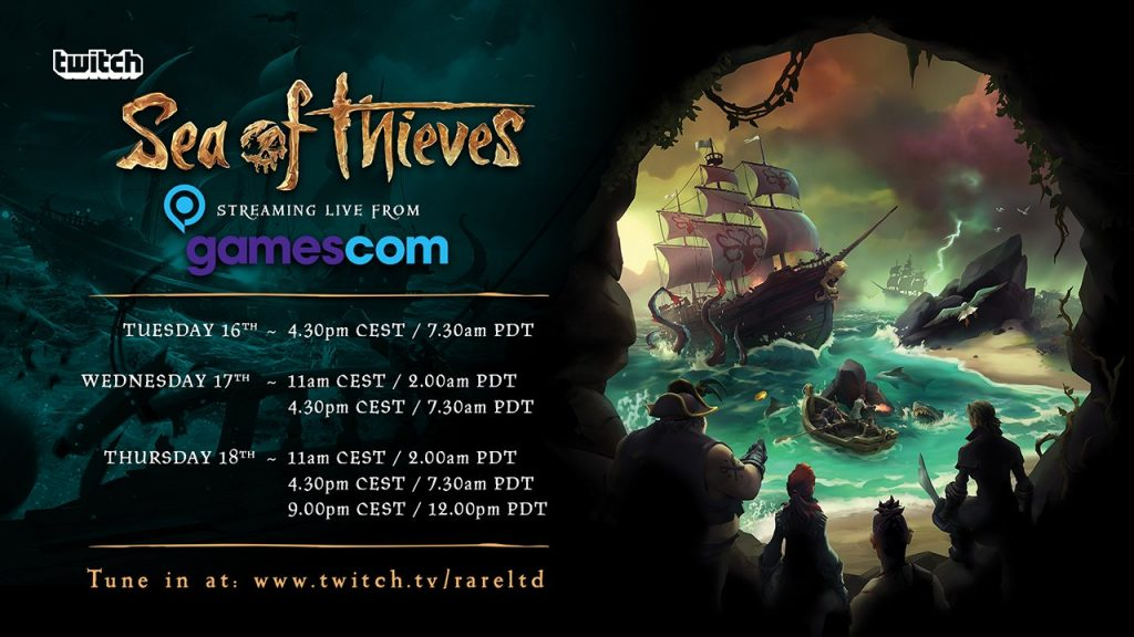 SoT Gamescom Stream