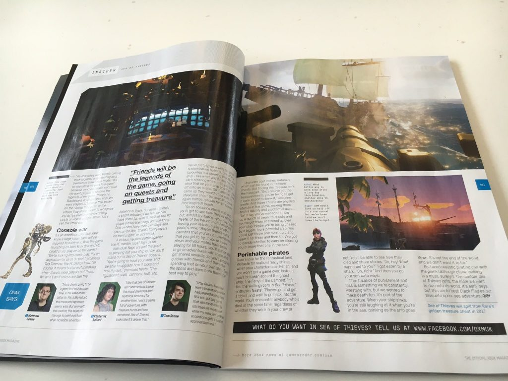 Sea Of Thieves Featured In Latest Issue Of OXM
